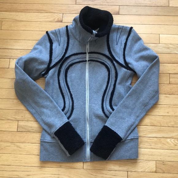lululemon athletica Jackets & Blazers - Lululemon Rare Sherpa Cuddle Up Jacket 8